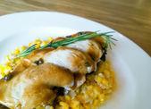 Roast chicken breasts — Stock Photo