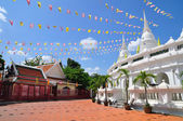 The celebration of Thai temple — Stock Photo