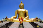 The biggest Buddha statue in Thailand — Stock Photo
