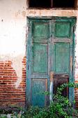Classico vecchio porta in thailandia, la storica — Foto Stock
