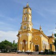 Stock Photo: Yellow church in Ayutthaya, Thailand