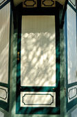 European classic door in Ayutthaya, Thailand — Stock Photo