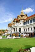 Royal grand palace bangkok, thajsko, chakri maha prasat thr — Stock fotografie