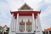 Ancient Buddhist monastery at Nonthaburi, Thailand — Stock Photo