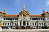 Royal Grand palace Bangkok, Thailand, The Chakri Maha Prasat thr — Stock Photo
