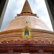 Stock Photo: PhrPathom Chedi, tallest stupwhich located in Nakhon Pathom, Thailand