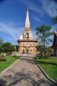 Wat Chalong temple — Foto Stock