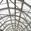 Steel roof structure, entrance to department stores, Thailand. — Stock Photo #32495213