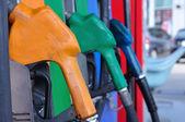 Gasoline nozzles figure — Stock fotografie