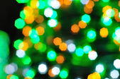 Colorful bokeh for New Year and all celebration — Stock Photo