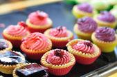 Colorate crostate vendita — Fotografia Stock