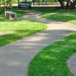 Walk way in garden — Stockfoto #37798875