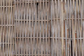 Local village fence pattern Thailand — Stock Photo