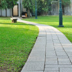 Walk way through public park. — Stock Photo #39405089