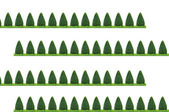 Tree trimming pattern for background — Stock Photo
