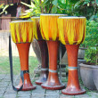 Stock Photo: Thailand local tradition music instruments