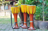 Thailand local tradition music instruments — Stock Photo