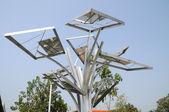 SOLAR-CELL Tree — Stock Photo