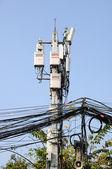 Mobile phone antennas — Foto Stock