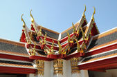 Beautiful Thailand art roof — Stock Photo