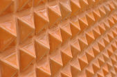 Pattern of triangle stone — Stock Photo