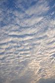 Blue sky with nice cloud — Stock Photo