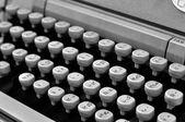 Used type-writer with Thai fonts — Stockfoto