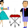 Royalty-Free Stock Vector Image: Bbq time
