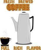 Café retro — Foto de Stock