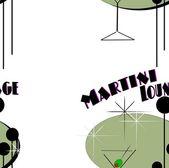 Seamless tile martini background — Stock Photo