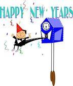 Happy new years — Stock Vector