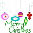 Royalty-Free Stock Vectorafbeeldingen: Merry christmas