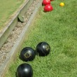 Lawn bowling — Stock Photo