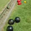 Photo: Lawn bowling