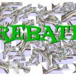 Rebate savings — Stock Photo #17861007