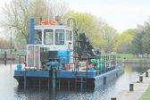 Rzeka barka — Zdjęcie stockowe