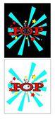Popping art — Stock Vector