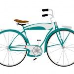 Retro bicycle — Stock Vector #27394303