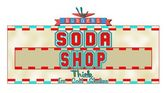 Soda shop — Stock Vector