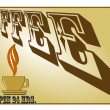Coffee time concept — 图库照片