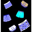 Stock Vector: Mens underwear styles
