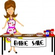 Bake sale — Stock Vector