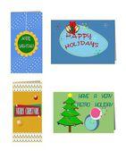 Holiday cards — Stock Photo