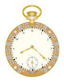 Vintage ornate pocket watch — ストック写真