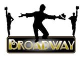 Broadway concept — Stock Photo