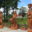 Stock Photo: Wooden figures