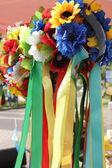 Ukrainian wreath — Stock Photo