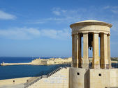 Great Siege Memorial in Valletta, Malta — Stock Photo