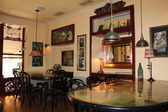 Art cafe bar — Stock Photo