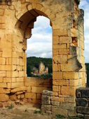 Chateau Laussel - Dordogne — Stock Photo